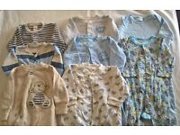 Boys and Neutral Coloured Baby Clothing Bundle age 3-6 mths