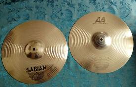 sabian AA Metal x hi hats