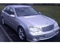 C200 diesel automatic full service history black leather long mot very good condition may take px