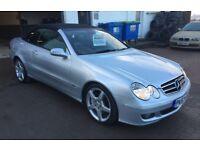 Mercedes CLK 350 auto 3.5 V6 Avantgarde 2007 57 plate LOW MILES 62000 service history 12 months mot!