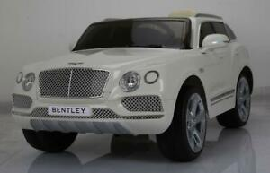 Officially Licensed 12V Bentley Baby Child Kids Ride On To Car SUV with Leather Seat, Doors, 2.4 Ghz Parent Remote more