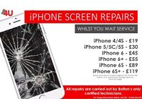Apple iPhone 5 / 5C /5S / 6 / 6 Plus / 6S / 6S Plus / 7 Fast Repair Service - Bolton & Manchester