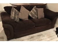 Brown Material Sofa