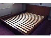 Ukea double bed with mattress