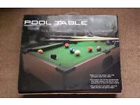 Mini Pool Table.