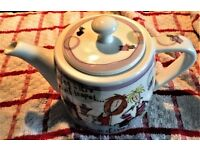 Born to Shop Tea Pot - Dieting is like a Chocolate Teapot *** a waste of time