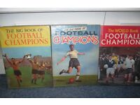 BOOKS OF FOOTBALL CHAMPIONS