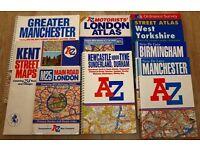 UK ROAD ATLAS & STREET MAPS