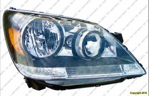 Head Lamp Passenger Side Honda Odyssey 2005-2007