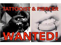 Tattooist & Piercer required for new studio in Kirkintilloch