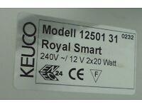 KEUCO ROYAL SMART BATHROOM CABINET with MIRROR, LIGHT & SHAVER SOCKET L/H HINGE