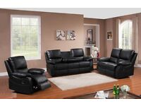 PANTHER HIGH QUALITY ITALIAN BONDED LEATHER RECLINER BRAND NEW BOXED £499 PLUS CINEMA CUP HOLDERS