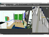 WANTED-Urgent job/employment- JUNIOR 3DS Max/Pre visualisation in Architecture needed.