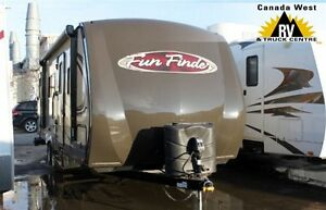 2013 Fun Finder 244RBS NICE LIGHTWEIGHT TRAVEL TRAILER W/2ND ENT