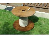 Outdoor giant cotton real Garden table