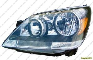Head Lamp Driver Side Honda Odyssey 2005-2007