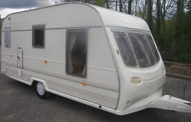 AVONDALE 2/3 BERTH L SHAPE SEATING FULL AWNING LIGHT WEIGHT TOW