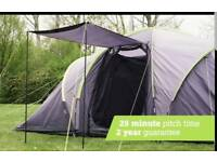 6 person tent with porch, brand new