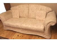 Stylish 3-Seater DFS Sofa. Good condition Light Beige Colour
