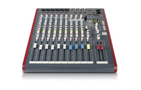 Allen & Heath ZED-12FX Mixer year old still like new