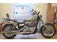 IMMACULATE USA SPEC 2009 HARLEY DAVIDSON FXDI DYNA SUPERGLIDE LOW MILEAGE 1 OWNER