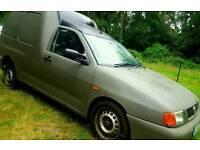 2004 Vw caddy green van