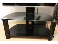 Tv stand gloss black