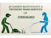Grass cutting & pressure washing