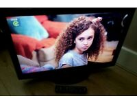32 inch LCD TV with built-in Freeview complete with remote control