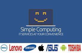 Phone Screen Repair, Tablet Repair, Laptop Repair, PC Repair, Apple Repair - Simple Computing