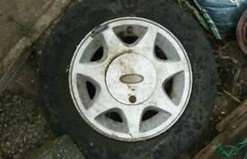 Ford Capri 2.8i RS 7 Spoke Alloy Wheel