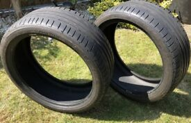 Pair of 225/40R19 89Y Bridgestone Portenza Runflate Tyres