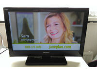 "Sharp 22"" Freeview TV"