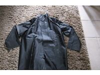 Ready for bad weather - 2 Mens Industrial waterproof 3/4 length coats never worn