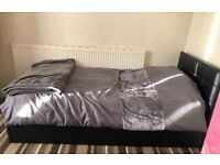Single bed with 10inch mattress