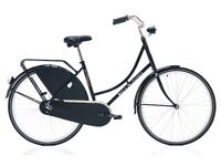 BRAND NEW DUTCH STYLE CORELLI PELIKAAN CLASSIC BLACK LADIES BICYCLE