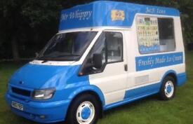 Secure parking reqd for ice cream van