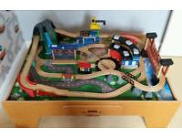 Mountain Rock / Toys R Us Wooden Train / Play Table (Location Overseal)