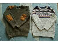 Boys winter Jumpers age 6-7