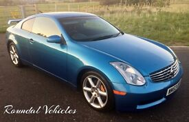 Nissan Skyline GT-R 350Z coupe, LOW MILES 51000 from new 12 months mot , serviced STUNNING LOOKING !