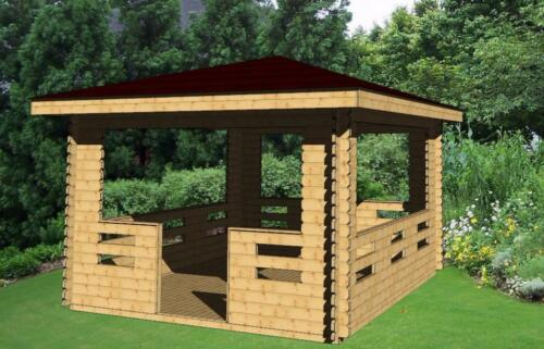 gartenlaube 3 x 3m gartenpavillon holzpavillon gartenhaus holz in sachsen anhalt egeln. Black Bedroom Furniture Sets. Home Design Ideas