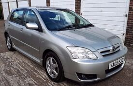 T-Z CARS PRESENT A 2005 Toyota Corolla 1.6 VVT-i Colour Collection 5spd 5dr history warranty