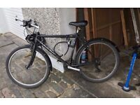Bike for sale - Claude Butler with lock, pump and lights
