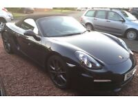 Porsche Boxster RDS, 2.7, 2D, PDK. 2014 (14) Black Convertible, Auto,Petrol, 40,500 miles in Glasgow