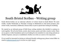 South Bristol Writing Group - Looking for members