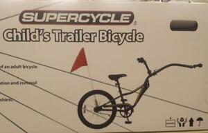 CHILDS TRAILER BICYCLE