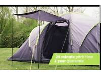 6 person tent with porch, brand new in bag