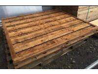 💎Brown Wayneylap Fence Panels > Excellent Quality < Pressure Treated