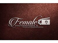 FEMALE DJ AND FEMALE PHOTOGRAPHERS VIDEOGRAPHERS/photography & Videography