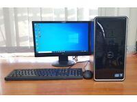 Dell PC Computer Windows 10, Intel i3-2120 8GB RAM & 500GB HDD